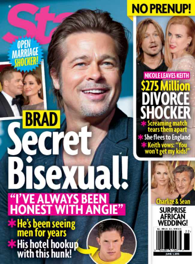 Brad Pitt bisex