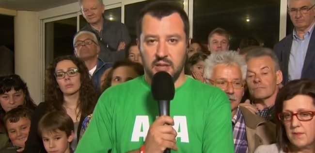 Salvini con Cameron a Londra