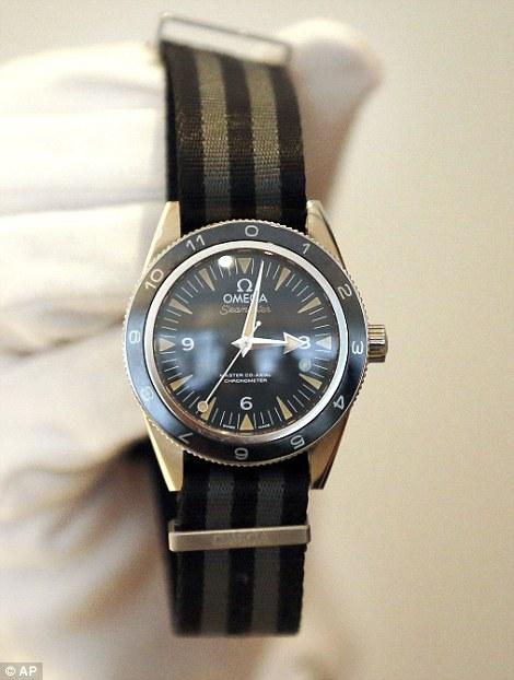 nuovo prodotto e0e79 446b8 orologio omega james bond asta christie's - Tuttouomini