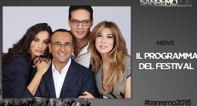 Festival di Sanremo i cantanti di martedi 9 e mercoledi 10
