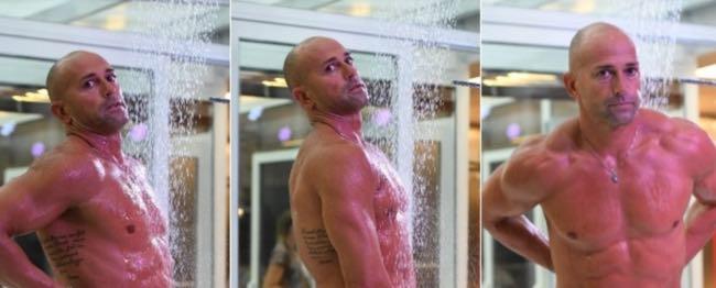 Stefano Bettarini in doccia al GF Vip e la querela di Sara Varone