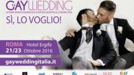 Gay Wedding la prima fieta della capitale dedicata alle unioni civili