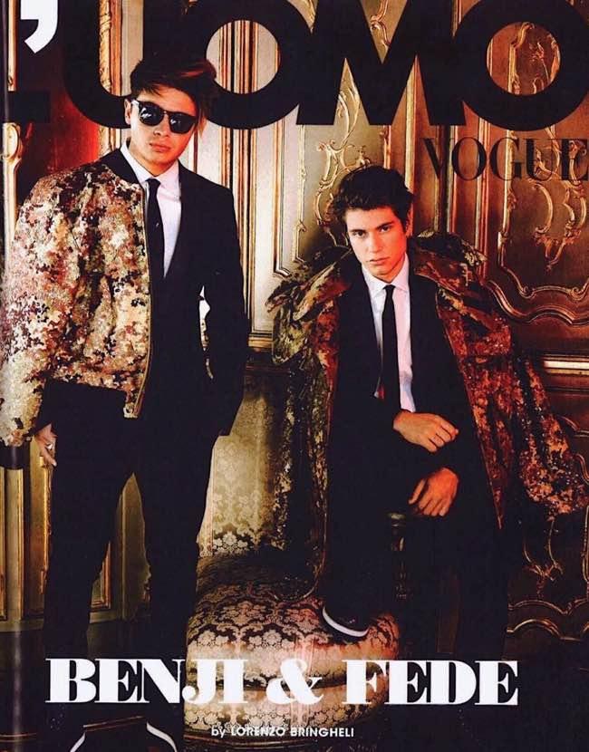 L'Uomo Vogue pubblica in copertina Benji e Fede a che scopo?