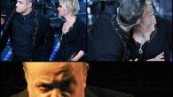Maurizio Costanzo arrabbiato con Maria De Filippi per il bacio a Robbie Williams