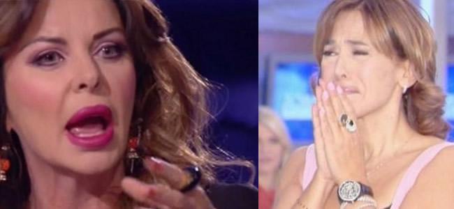 """Alba Parietti contro Barbara D'urso: """"La disapprovo"""""""