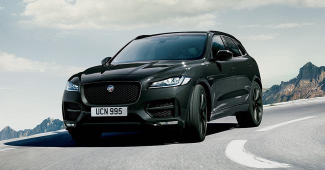 Ecco la nuova Jaguar F-PACE Dark Edition dall'anima sportiva