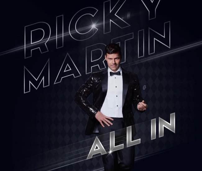 Ricky Martin di pacco su Instagram per Las Vegas!