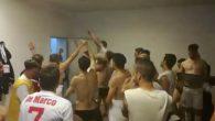Calciatori entriamo negli spogliatoi della Casertana