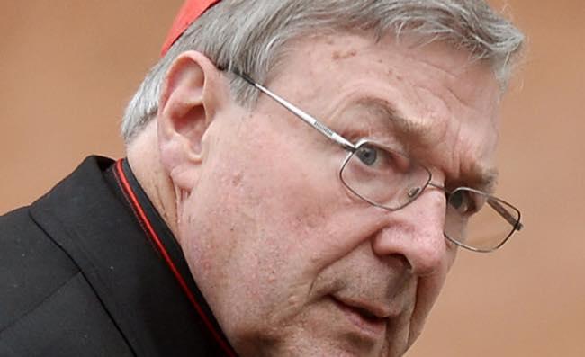 Cardinale Pell il più alto rappresentante vaticano accusato di abusi sui minori