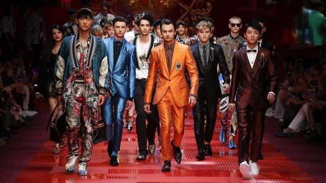 Sfilata Dolce e Gabbana Milano le foto dei modelli più belli