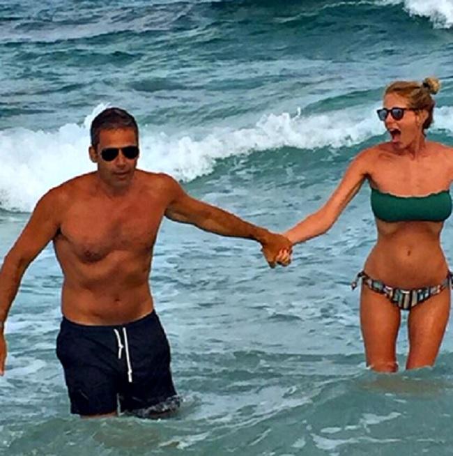 Alessia Marcuzzi smentisce le voci di divorzio con il marito Paolo