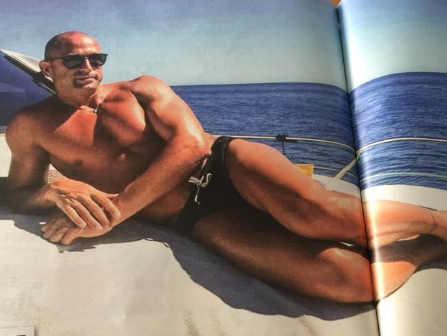 Stefano Bettarini sirenetto al mare perde il posto da inviato all'Isola dei Famosi?