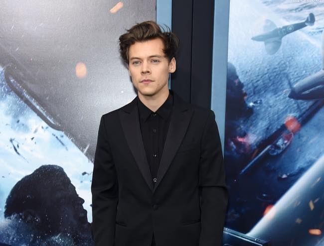 Harry Styles look alla prima del film Dunkirk a New York