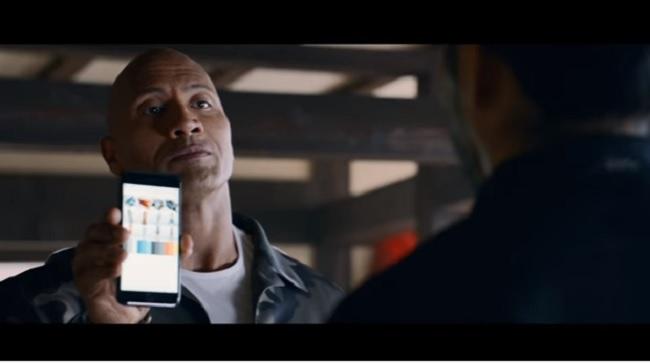 Dwayne Johnson protagonista di un corto con Siri