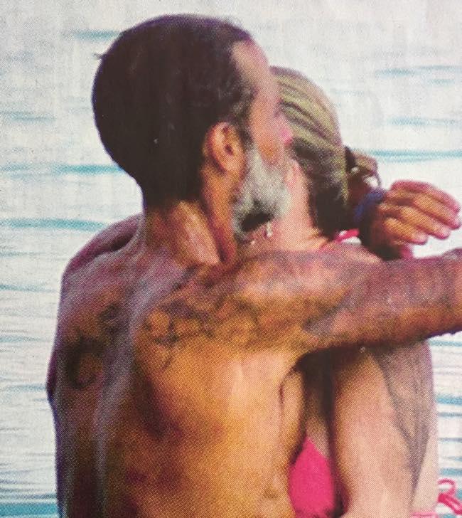 Paola Barale e Raz Regan dopo l'isola di nuovo in vacanza insieme?