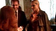 Michelle Hunziker e Tomaso Trussardi alla sfilata Trussardi per Milano fashion week