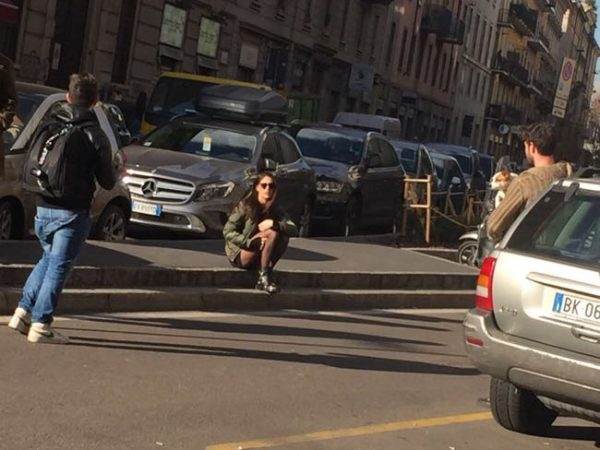 Ignazio Moser e Cecilia Rodriguez lite in centro a Milano? Foto