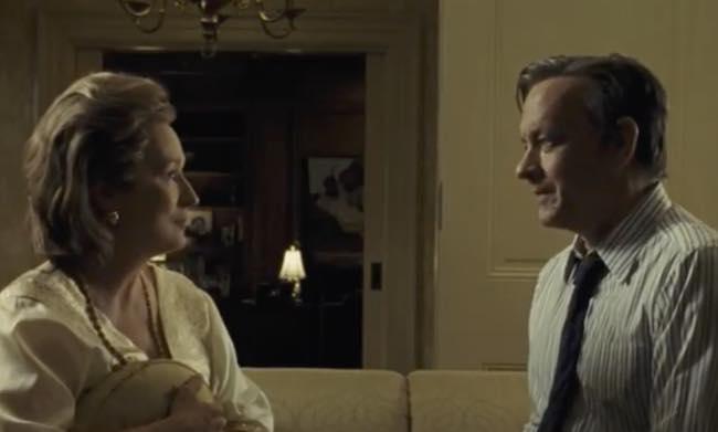 Tom Hanks, Meryl Streep e Steven Spielberg ospiti domenica a Che tempo che fa