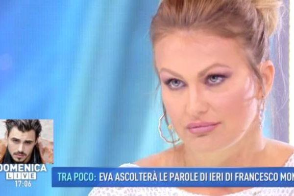 """Eva Henger a Domenica Live:""""Nessuna querela da Monte ho controllato in procura"""""""