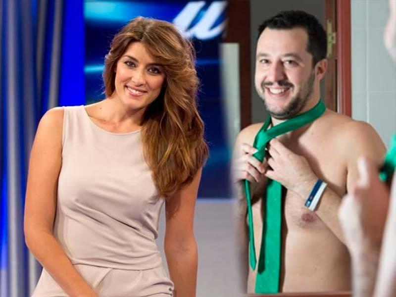 Matteo Salvini dall'elezioni politiche a Sanremo 2018 con la sua Isoardi