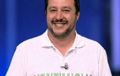 Matteo Salvini a Domenica Live per le elezioni politiche 2018