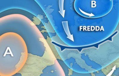 Previsioni meteo Italia arriva BURIAN gelo, neve e temperature sotto lo zero