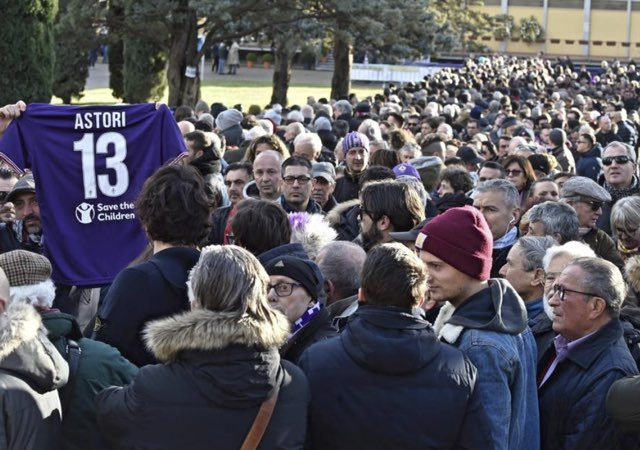 Per l'addio a Davide Astori