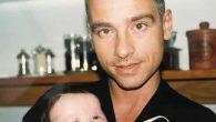 Eros Ramazzotti da giovane con Aurora per la festa del papà