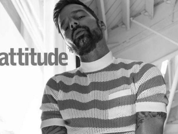 Ricky Martin mostra il pelo e non solo su una rivista inglese