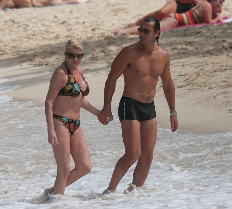 Ivana Trump e Rossano Rubicondi insieme a Ballando con le stelle