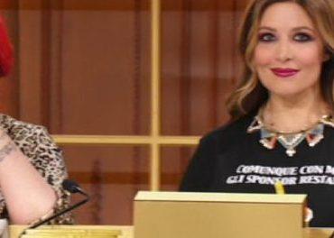 """Selvaggia Lucarelli a Domenica in:""""Gesto disdicevole di Favoloso nei miei confronti"""" La denuncia."""