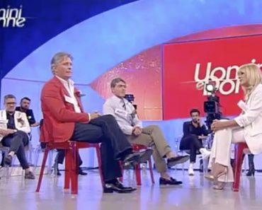 """Lite tra Marco e Giorgio del trono over per Gemma """"Voglio rispetto"""""""