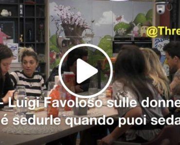Luigi Favoloso ecco cosa c'era scritto sulla maglietta sessista, la Lucarelli attacca