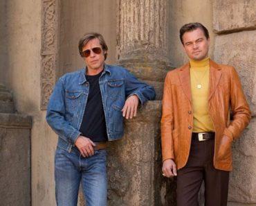 Brad Pitt indossa una giacca in denim iconica di Wrangler nel nuovo film di Quentin Tarantino