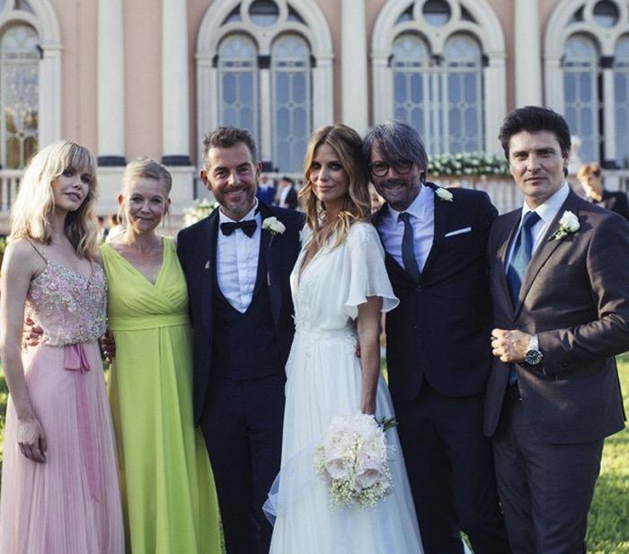 Matrimonio Filippa Lagerback : Filippa lagerback e daniele bossari per il loro matrimonio