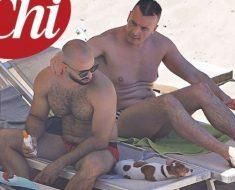 Rocco Casalino ex Grande Fratello ora M5S al mare con il fidanzato cubano