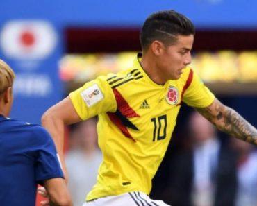 Mondiali Russia 2018 James Rodriguez a 90 gradi