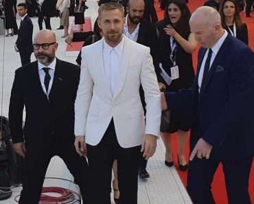 Ryan Gosling sul red carpet di First Man alla Mostra del Cinema di Venezia
