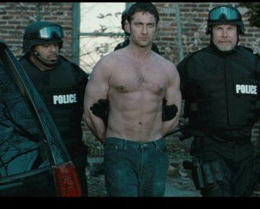 Gerard Butler senza niente addosso nel film Giustizia Privata