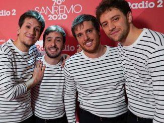 Eugenio in Via di Gioia a Sanremo 2020 ritmo e look
