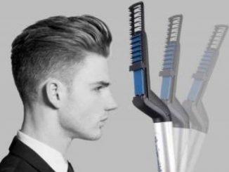 Come avere capelli perfetti con la piastra da uomo modellante